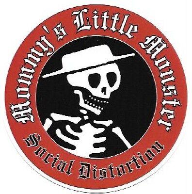 Social Distortion Mommy's Little Monster Vinyl Sticker, Rockabilly, Punk, So Cal