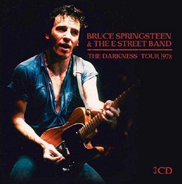BRUCE & THE E STREET BAND SPRINGSTEEN - THE DARKNESS TOUR 1978 3 CD NEU
