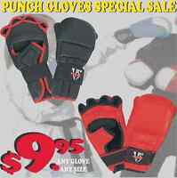 PUNCHING GLOVES, GREAT QUALITY, SAVE HUGE $$$ DEAL WITH MANUFATU