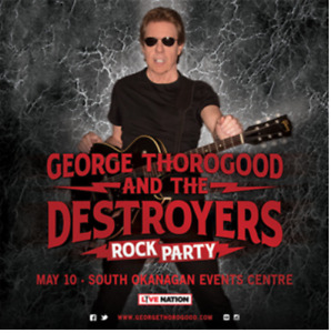 HALF PRICE!! 2 Tickets to George Thorogood