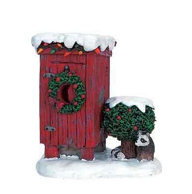 NEW Lemax Village Christmas Outhouse Accessory Set Village Decoration Figure