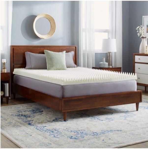 mattress topper memory foam queen