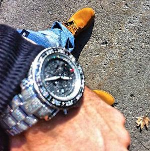 Montre Joe Rodeo 13.25 Carrat diamond watch ...... rolex, ap