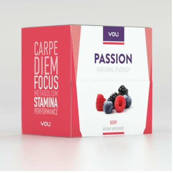 Yoli 35 Berry Passion Packets - Exp. 10/2022