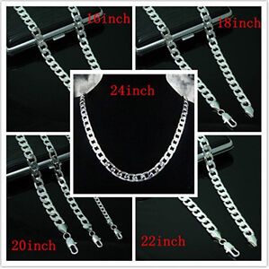 New-Xmas-gift-Wholesale-Mens-Heavy-Solid-925Silver-Thick-Boy-Chain-Necklace-Box