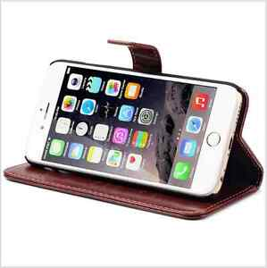 Brown IPhone 6/6s case, real leather Kitchener / Waterloo Kitchener Area image 2