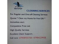 CEANING SERVICES . FOR REGULAR AND ONE OFF CLEANING SERVICES.