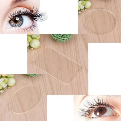 Silicone Eyelash Extension Stand Pallet Pad Eye Lash Tray Holder Tool Clear New ()