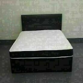 ⭐🆕 INTRODUCTION OFFER LUXURY DIVAN BED WITH MATTRESS IN ALL SIZES & COLORS READY GRAB ONE TODAY!!