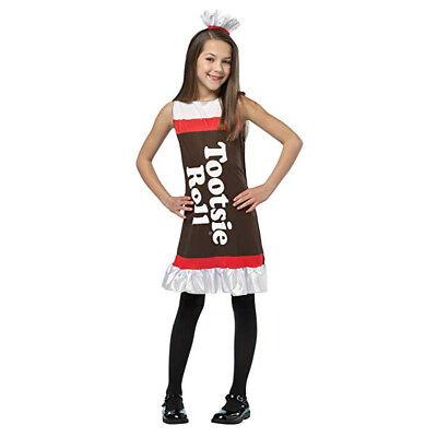 Tootsie Roll Child Costume (Rasta Imposta Tootsie Roll Girls Child Costume Dress |)