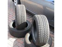 4 Vredestein Wintrac Xtreme Run-Flat Winter Tyres 225/45 17 91V