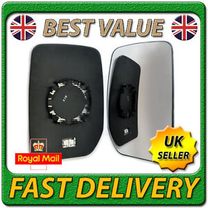 Ford Transit Side Mirror Glass