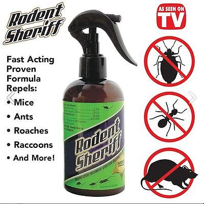 Pest Control Spray Products Rodent Sheriff As Seen On Tv Mice   Easily Repeller