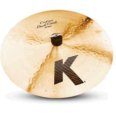 "Zildjian 16"" K Custom Dark Crash Cymbal -- SUPER FLASH SALE"