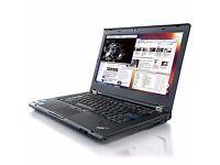 BIG SPEC T420 LAPTOP 2ND GEN CORE i5 128GB SSD 8GB RAM WIFI WEBCAM DVD HD3000 GRAPHICS W7 PRO
