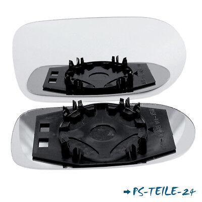 Edelstahl-front Vent (Spiegelglas für FIAT PALIO WEEKEND 2002-2006 links sphärisch fahrerseite )