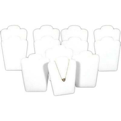 12 Necklace Pendant Jewelry Bust Display Unit