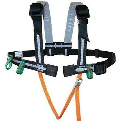 Youth XL Misty Mountain Challenge Climbing Harness Standard