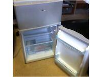 Logik fridge with ice box