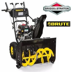 "USED* BRUTE 208cc 24"" SNOW BLOWER 1696616 149886671 950 snow series - 9.5-foot-pounds of torque SNOW THROWER SNOWBLOWER"