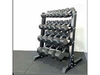 Hex dumbbells gym equipment