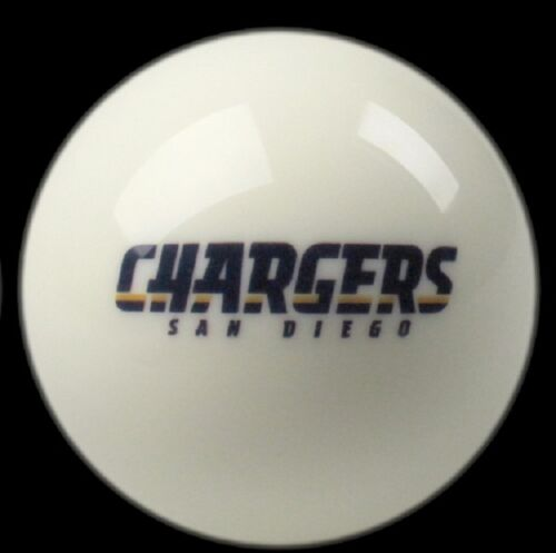 SAN DIEGO CHARGERS NFL TEAM BILLIARD GAME POOL TABLE REPLACEMENT CUE 8 BALL