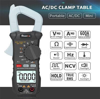 Mustool X1 Digital Clamp Meter Multimeter Handheld Rms Acdc Mini Resistance Us