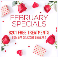 Laser Treatments - Buy 2  get 1 free, 50% off Celazome Skincare