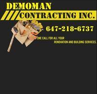 SKILLED  LABOURERS WITH DRYWALL AND PAINTING EXPERIENCE