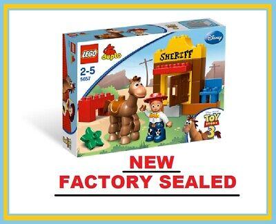 LEGO Duplo 5657 Toy Story Jessie's Roundup Sheriff New Cowgirl Bullseye minifig