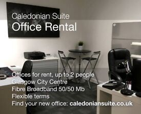 SERVICED OFFICES TO RENT/CITY CENTRE ADDRESS/MEETING ROOM HIRE - G2