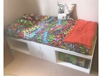 White cabin Bed like new