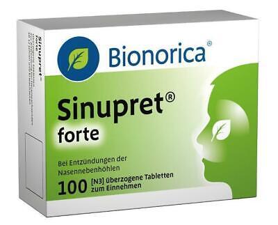 Sinupret forte Dragees Bionorica 100 St PZN: 8625596