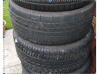 TWO Brand new pirelli tyres - 265/40/18