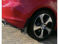 Genuine VW Golf GTi Mk7 mudflaps