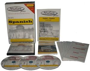 Learn-Spanish-language-kit-2-books-3-cds-flash-cards