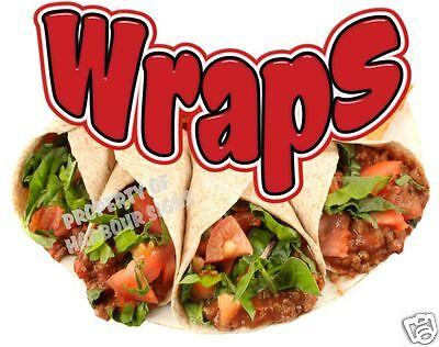 Wraps Decal 14 Concession Restaurant Food Truck Vinyl Menu Sign Sticker
