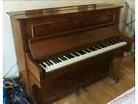 Upright Vintage 1976 Paul Gerard Piano for Sale Mahogany