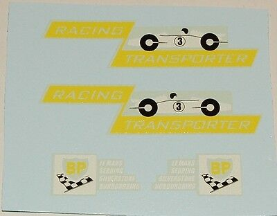 Used, Matchbox Kings K-5B and Major Pack M-6B Race Car Transporter Decal Set  (#203) for sale  Greenwood