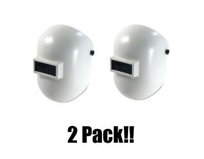 2 Fibre-metal Honeywell Superglas Plus 110pwe Pipeliner Style Welding Helmet