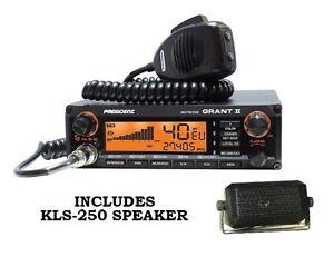 PRESIDENT-GRANT-2-II-AM-FM-SSB-CB-RADIO-EXPANDED-RADIOZING-TESTED-ALIGNED