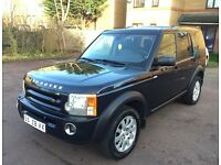 LHD LEFT HAND DRIVE LAND ROVER DISCOVERY 3 HSE 2.7 TDV6 4X4 2005 7 SEATER AUTOMATIC XENON LEATHER
