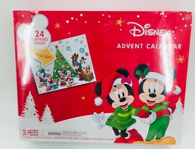NEW/SEALED, Disney Mickey Mouse Minnie, Holiday Advent Calendar, Limited Edition