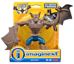 Imaginext-Dc-Super-amici-uomo-pipistrello-NUOVO