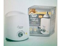 Tommee Tippee Closer to Nature Electric Bottle and Food Warmer - for sale, £10 (RRP £21.99)
