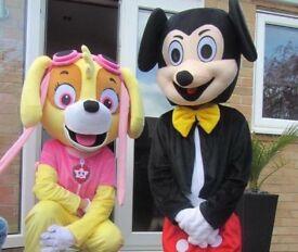 Children's character mascot costumes