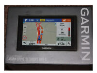 GARMIN DRIVE 51 Europe LMT-S sat nav. Brand New