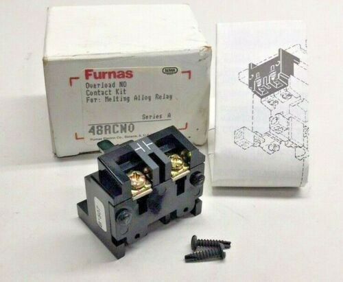 Furnas 48ACNO Overload NO Contact Kit for Melting Alloy Relay 48ACN0 Series A