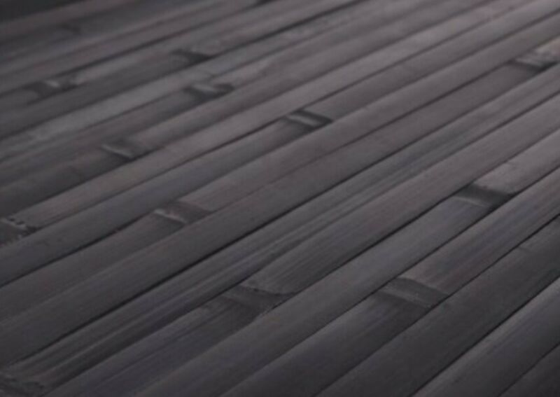 * 4ft x 8ft Bamboo Wainscoting Paneling Ebony Great for Tiki Thatch Bar Ceiling