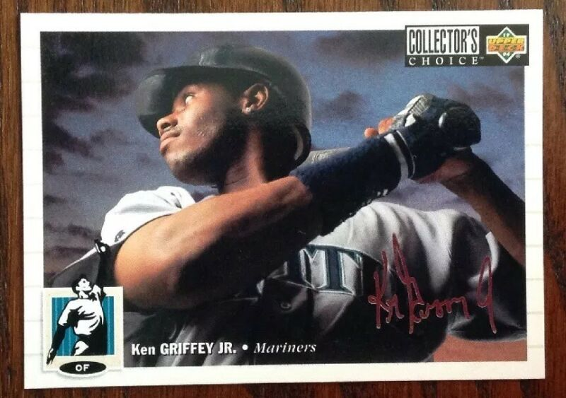1994 Upper Deck Collectors Choice Silver Signature Ken Griffey Jr. HOF